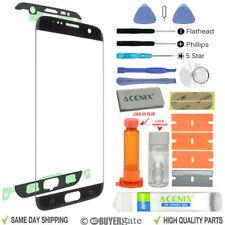 Samsung Galaxy S7 Edge Recambio Exterior Pantalla Lente de Cristal