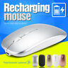 2.4GHz 1600DPI Rechargeable Wireless Mouse Silent Optical Mice For Laptop PC
