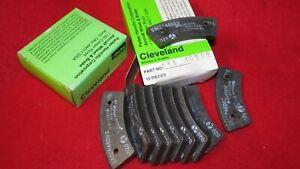 New Box of 10 ea. Cleveland brake linings 66-105