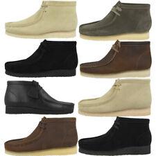 Clarks Wallabee Boot Schuhe Herren Originals Freizeit Stiefel Boots Schnürschuhe