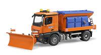 Bruder 03685 MB Arocs Winterdienst Streufahrzeug Neuheit 2015  Bworld