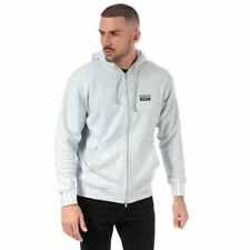 Para Hombre Adidas Originals r.y.v Full Zip Regular Fit Sudadera Con Capucha en Gris