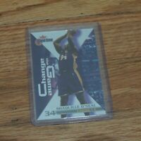2000 Shaquille O'neal Fleer Change The Game Card Lakers Holo
