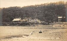 A76/ Sprakers New York Ny Real Photo Rppc Postcard c1920 Mohawk River Ferry
