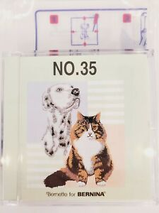 DOGS & CATS Burnette Bernina Embroidery Memory Card NO. 35 - Brother, Babylock