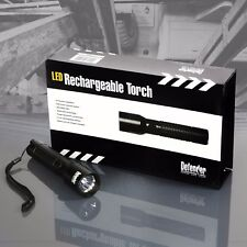Defender High Power 3W Cree Q5 LED Aluminium Body Rechargeable Lithium Torch