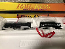 MTH Railking New York Central 4-6-4 Hudson Steamer Cab & Tender # 5405 NIB