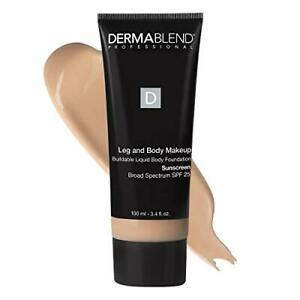 Dermablend Leg and Body Makeup Foundation with SPF 25 10N Fair Ivory 3.4 Fl. Oz.