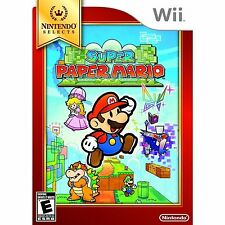 Super Paper Mario - Nintendo Selects (Nintendo Wii) NTSC Brand New