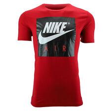 Nike Men's Air Graphic T-Shirt Red/Black M