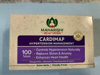 MAHARISHI AYURVEDA CARDIMAP FOR HYPERTENSION &BLOOD PRESSURE/100Tabs/PURE HERBAL