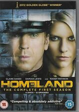 HOMELAND<>COMPLETE FIRST SEASON<>DVD<>4 DISC SET