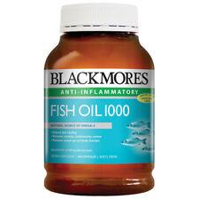 BLACKMORES FISH OIL 1000 MG 400 CAPSULES OMEGA 3 ANTI INFLAMMATORY HEALTHY HEART