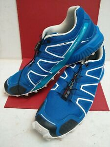 Salomon Speedcross 4 - Trail Running - Mens size 10.5 blue .