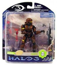 Halo 3 Series 3 Spartan Soldier ODST Exclusive Action Figure [Brown, Damaged]