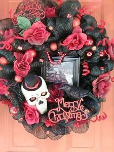 I Have Cut You Off Wreath