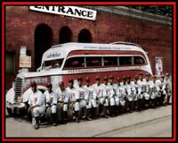 1935 Pittsburgh Crawfords Negro American League Team Picture Color 8 X 10 Photo