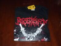 Berserkerfox - Rock Band T-Shirt  SIZE MEDIUM  Melbourne Death Metal Band