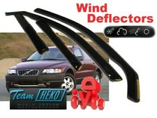 VOLVO V70 XC70  2000 - 2007  ESTATE  Wind deflectors 4.pc set  HEKO   31228