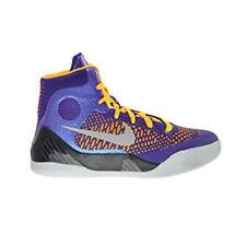 Nike Boy's Kobe IX Elite Shoes (5) Court Purple / White Laser Orange