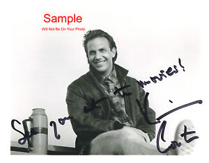 KEVIN COSTNER Signed Autographed Reprint 10x8 Photo #1