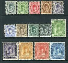 More details for zanzibar-1908-9  a mounted mint set to 5r sg 225-238