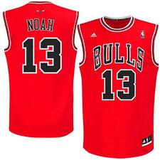 Joakim Noah Chicago Bulls NBA Kids Size 4 Replica Away Jersey Red $45