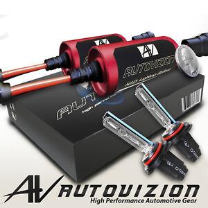 Auto Xenon Headlight Fog Light HID Kit 32000LM Round Ballast New Style D2S