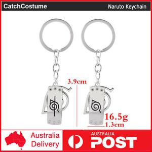 Anime Naruto Key Ring Keychain Rotatable Key Chain Keyring Gift