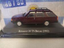 Renault 18 TS Break (1992) 1/43 Colección coches argentinos años 80/90