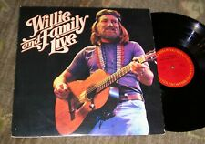 """Excellent 1978 Country 2-LP - WILLIE NELSON """"Willie And Family Live"""" COLUMBIA"""