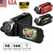 HD 1080P Camcorder Digital Video Camera LCD 16MP 16x Zoom DV AV 2.7 Inch Screen