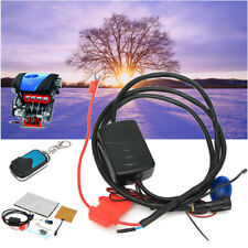 90W Remote Control Car Engine Heater Coolant Pre Heaters Diesel Heater Parts 12V