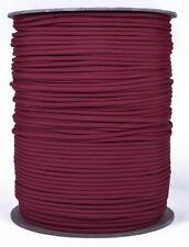 Crimson - 550 Paracord Rope 7 strand Cord - 1000 Foot Spool