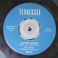 Rock 45 Del Wood - Ragtime Melody / Rainbow On Tennessee