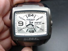 NEW OLD STOCK DIESEL DZ1216 46MM JUMBO SIZE DAYDATE QUARTZ MEN WATCH