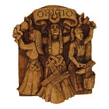 Brigid Plaque | Dryad Designs | Pagan Wiccan Irish Wicca Celtic Goddess Brigit