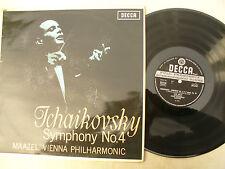 TCHAIKOVSKY SYMPHONY No4 MAAZEL VIENNA PHILHARMONIC stereo decca 6157 ... 33 rpm