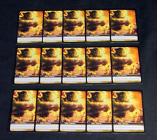 Lot of (15) World of Warcraft WoW TCG Penance Drums of War - Ability Rare