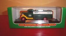 HESS GAS 2000 MINIATURE HESS FIRST TRUCK EDITION COLLECTIBLE NEW IN BOX