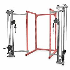 Valor Fitness BD-CC2.0 Cage Cable Crossover Attachment 2.0 Inch Frame Silver New