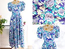Vintage Laura Ashley floral cotton dress Size Small UK 8 cottagecore prairie