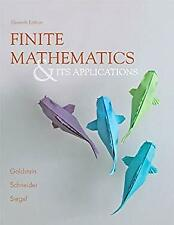 Finite Mathematics and Its Applications Paperback Larry Joel Goldstein