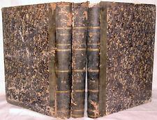 RARE 3 VOLUMES du JOURNAL des PRÉDICATEURS + 52 LITHOS PLEINE PAGE, 1845 à 1849