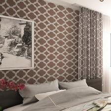 Mur pochoir carrelage marocain pattern-Set (2 feuilles) - pour la peinture, grande échelle