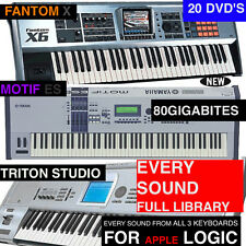 Triple KEYBOARD EXS Samples Presets FOR LOGIC Express Pro X es STUDIO Plus More