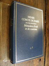 Henri Comte de Paris au service de la France Mémoires d'exil et de combats