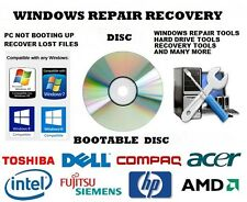 WINDOW 10 -81-7.VISTA-XP- REPAIR -RECOVER -DISC  UTILITIES TOOLS FOR WINDOWS