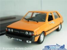 FSO POLONEZ MODEL CAR 1:43 SCALE ORANGE + DISPLAY CASE IXO IST HATCHBACK K8