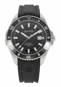 Eberhard & Co. Scafograf 300 Automatic 43mm Men's Stainless Steel Watch 41034